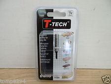 """TREND T TECH TT/01 3.2MM X 9.5MM 1/4"""" SHANK STRAIGHT TCT ROUTER CUTTER BIT"""