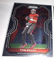 2020 Panini Prizm Football Tom Brady Base Card #255 Tampa Bay Buccaneers