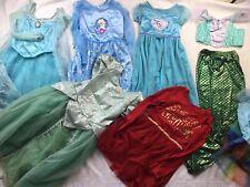 Halloween Disney Princess Dress Up Lot Pretend Play Girls 7/8