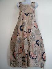 Summer Linen Sleeveless Dresses for Women