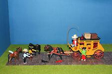Playmobil Westernkutsche  Pferde  Figuren TOP Set