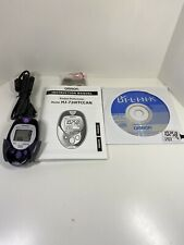 Omron Pocket Pedometer Model HJ-720ITC with CD & Accessories