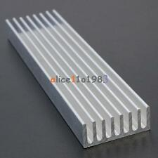 100x25x10mm Aluminum Heat Sink Cooling LED Power IC Transistor For Computer