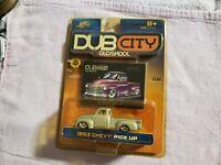 1953 Chevy Pick Up Dub City Oldskool Diecast Truck 2002 Jada Toys1:64 Silver I20
