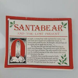 Dayton Hudson Santa Bear 1985 Vintage Original and the Lost Present Tag Story