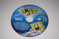 SpongeBob's Boating Bash Nintendo Wii Video Game Disc Only