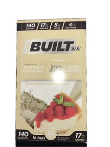Built Bar Raspberry Cheesecake - LIMITED FLAVOR (sealed box - 18 ct.)