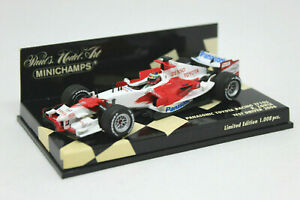 MINICHAMPS 1/43 - Panasonic Toyota Racing TF106 Zonta Test Driver 2006 400060042