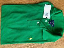 Ralph Lauren Jungen Polo Langarm Shirt VP65€ Grün Gr. L 14-16y 170 176 182