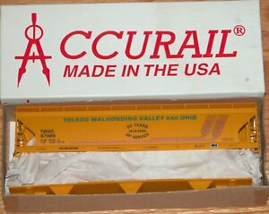 ACCURAIL ACF 3-BAY COVERED HOPPER KIT TOLEDO WALHONDING VALLEY AND OHIO TWVO 479