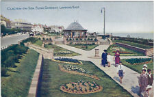 CLACTON-ON-SEA ( Essex) :Sunk Gardens,Looking East -PHOTOCHROM