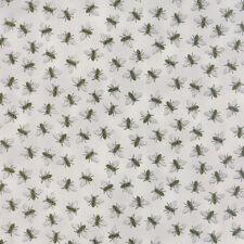 Bee Creative Dove Grey Honey Bees 19756 14 | Deb Strain | Moda Quilting fabric