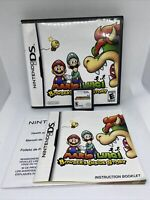 Mario & Luigi: Bowser's Inside Story (Nintendo DS, 2009) Complete Tested Working