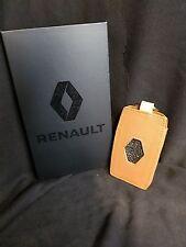 Renault Megane Koleos Genuine Card Key Holder Leather Tan