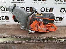 New listing Husqvarna K1270 Concrete Cut-Off Saw - Starts & Runs Strong Read 119cc Fast Ship