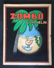 Zombo l'orphelin - Enfantina - Très Bon Etat (vers 1950)