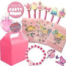 Chicas Rosa Cumpleaños Boda Actividad Pack Bolsas de Fiesta Relleno Regalos Cajas de Favor