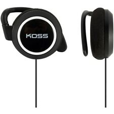 Koss Ksc21 Ear Clip Headphones - Stereo - White, Black - Mini-phone - Wired - 36