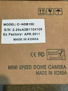 Pelco Spectra 100x PTZ Speed Dome camera C-NDB100 NEW IN BOX, never installed
