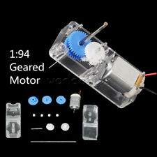 85-120RPM 1:94 Mini Biaxial Gear Motor + Plastic Shell For DIY RC Car Robot Boat