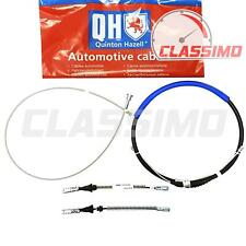 Rear Handbrake Cable Set for VAUXHALL CORSA C - Drum Brakes no ABS - 2000-2006