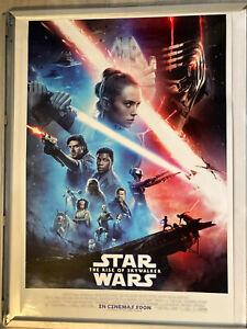 Star Wars The Rise Of Skywalker Main Original Film one sheet Cinema Poster.