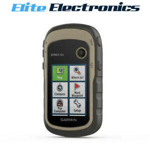 Garmin eTrex 32x Rugged Outdoor Handheld GPS Compass 010-02257-02