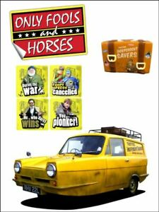 Only fools and horses quotes car logo decor Edible Cake Topper Kit Wafer / Icing