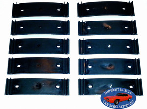 69-72 Chevy GMC Pickup Truck Lower Body Side Trim Molding Trim Clip 10pcs AC