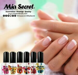 Mia Secret Natural Cuticle Essential Oil 0.25 oz - Pick Your Color From 6 Scent