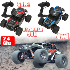 4WD High Speed Fast 60MPH Remote Controlled RC Car 2.4G Large Kids Gifts Toys UK