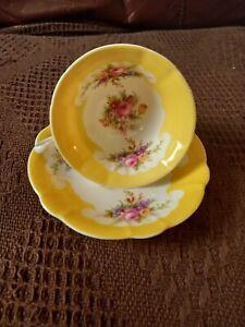 Foley EB Bone China tea cup and saucer