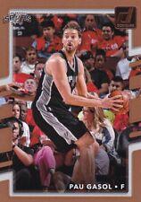 2017-18 Panini Donruss Baloncesto Cartas Coleccionables #132 Pau Gasol