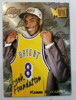 Kobe Bryant Fleer Metal 1996 97 Rookie Ultra Rare Los Angeles Lakers RC NBA