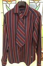 Vivienne Westwood Men's Matching Striped Shirt and Tie