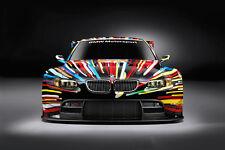 BMW Z4 GTLM TEAM RLL RACE CAR POSTER PRINT 24x36 HI RES 9MIL PAPER