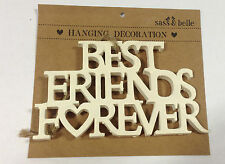 Sass & Belle Best Friends Forever Vintage Hanging Decoration