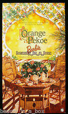 Orange Pekoe Barbie Doll Victorian Tea Porcelain COA ~ NRFB