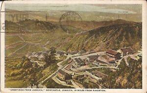 "Newcastle, JAMAICA - near Kingston - 1927 - ""BUY BRITISH GOODS"" - BWI"