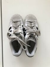 Adidas White Superstar Trainers Size 4