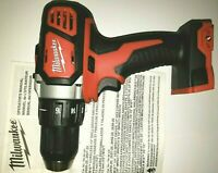 """New Milwaukee 2606-20 M18 Cordless Compact Drill 1/2"""" Driver 18 Volt"""