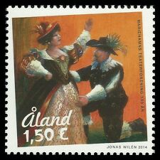 Aland 2014 - Mariehamn Theatre Society 100 Years Art Painting - MNH