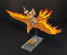 WARHAMMER AGE OF SIGMAR HIGH ELVES FLAMESPYRE PHOENIX PAINTED