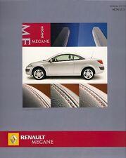 Renault Megane Coupe Cabriolet CC Monaco Limited Edition 2005 UK Market Brochure