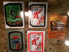 Wacky Packages ANS7 MEGA SET INCLUDES BASE AND INSERTS!