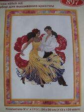 Spanish dancers cross stitch kit