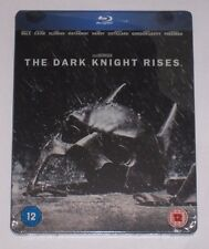 The dark knight rises uk hmv exclusive blu ray steelbook-factory sealed batman