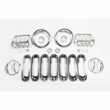 Jeep Wrangler Jk 07-17 Euro Guard Light Kit Stainless  X 12496.11