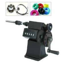 Dual Purpose Manual/Electric Coil Winder Machine Counter Hand Coil Winding Tool