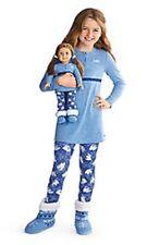 BNWT American Girl Polar Bear Pajamas For Girls Size 6 - XS